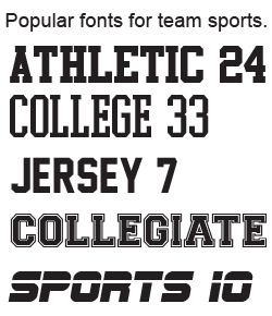 lettering for jersey